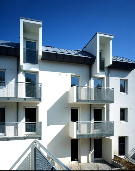 Broissand Architectes 49 Logts Montlouis Loire