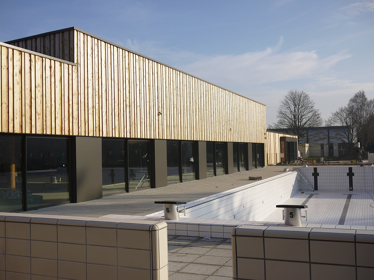 Broissand architectes piscine de coulaines for Piscine 75008