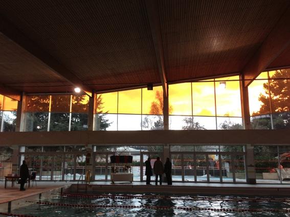 Broissand architectes piscine les bussys eaubonne for Piscine eaubonne