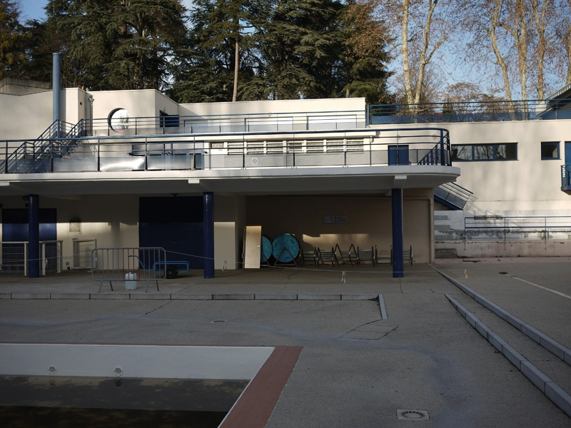 Broissand architectes piscine de oullins lyon for Piscine oullins