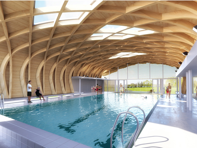 Broissand architectes centre aquatique ocelia for Venelles piscine