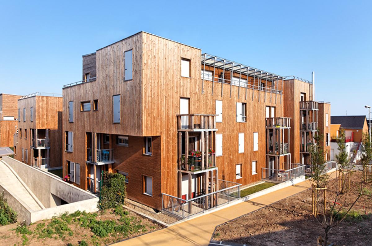 Broissand architectes 49 logts montlouis loire for Definition architecte dplg