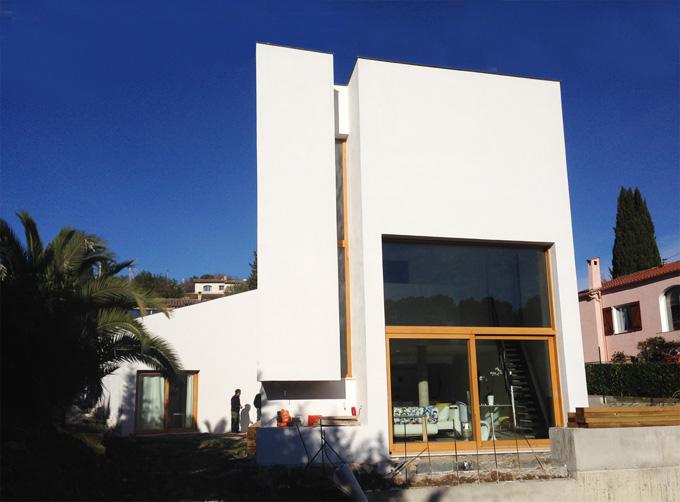 broissand architectes villa picard mougins. Black Bedroom Furniture Sets. Home Design Ideas